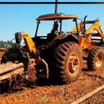 Mini skidder à venda